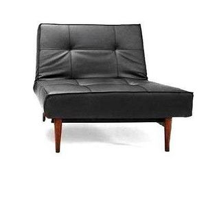 INNOVATION - splitback wood fauteuil noir convertible design in - Niederer Sessel