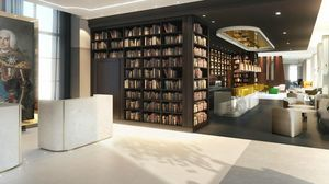 Agence Nuel / Ocre Bleu - hôtel strasbourg - Ideen: Hotelhallen