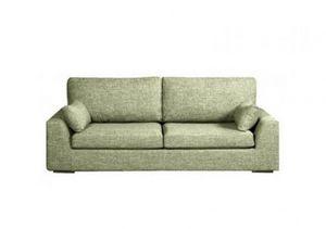 Home Spirit - canapé lit convertible tenerife tissu tweed vert a - Bettsofa
