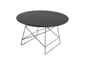 INNOVATION - grid tables basse design taille xl par innovation  - Runder Couchtisch