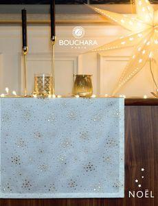 Bouchara - chemin de table - Weihnachtstischdecke