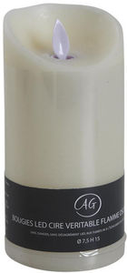 AUBRY GASPARD - bougie à leds parfum vanille grand modèle - Falsche Elektrische Kerze