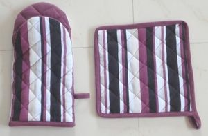 ITI  - Indian Textile Innovation - stripes - Ofenhandschuh