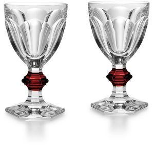 Baccarat - harcourt coffret 2 - Stielglas