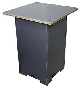 WERKHAUS - table de jeu pour enfant en bois grise en bois 50x - Kindertisch