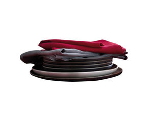 BLANC CERISE - uni 1330180 - Tisch Serviette