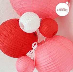 SOUS LE LAMPION - lanterne chinoise - Weihnachtsschmuck