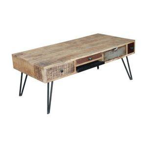 Mathi Design - table basse byron bay - Rechteckiger Couchtisch