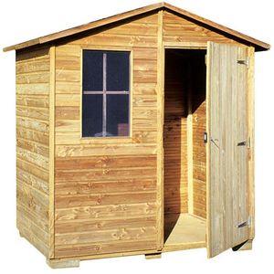 Cihb - abri de jardin en pin 2.20 m² brio - Holz Gartenhaus