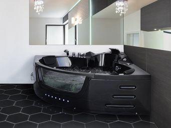 BELIANI - spa - Whirlpool Eckbadewanne