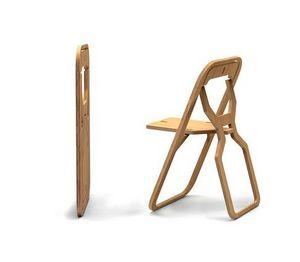 INFINE DESIGN OBJET - natural bamboo - Klappstuhl