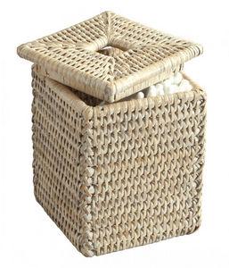 ROTIN ET OSIER - boît à coton-tiges tilda - Badezimmerset