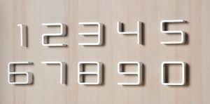 DEPOT4DESIGN -  - Hausnummerschild