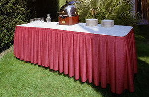 KAECHELE -  - Lange Tischdecke