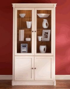 Home Wood Furniture -  - Vitrinen Schrank