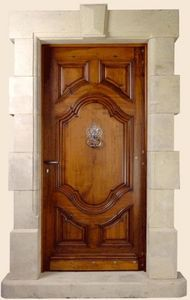 Ebenisterie D'art Bertoli - roussillon - Eingangstür