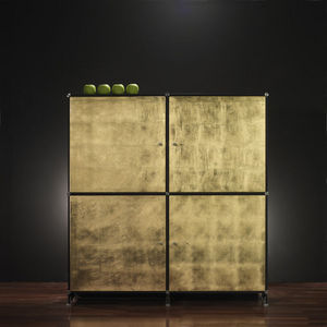FITTING - fitting gold x2 - Kabinettschrank
