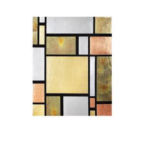 LA BOTTEGA DELL'ARTE ORAFA - pannello modulare foglia oro/argento - Trumeauspiegel