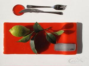 CELIX Infusing Art - plat à verrines - Spargelplatte