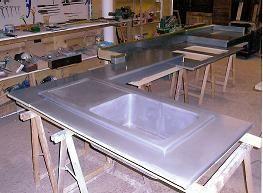Creation Autour Du Zinc -  - Küchentisch