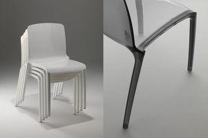 Casprini - tiffany - Stapelbare Stühle