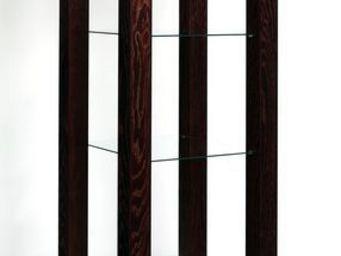 Gerard Lewis Designs - open display unit with glass shelves - Vitrinen Schrank