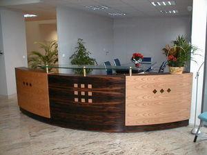 Ebénisterie Hackspill -  - Empfangsbank