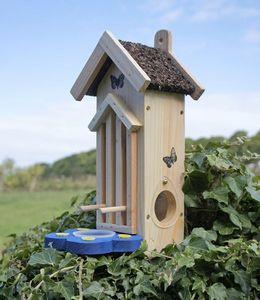 Wildlife world - butterfly habitat/feeder - Vogelhäuschen