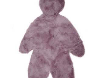 Pilepoil : Fausse Fourrure - ours - Kinderteppich