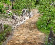 Natural Driftwood - driftwood paving - Naturbodenbelag