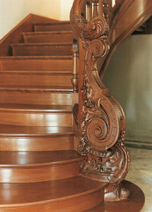 Ateliers Perrault Freres -  - Treppenverkleidung