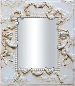 Miroirs et trumeaux Daniel Mourre - angelots écru - Spiegel