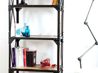 Miliboo - atelier etagere - Offene Bibliothek