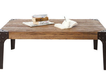 Miliboo - madison table basse - Rechteckiger Couchtisch