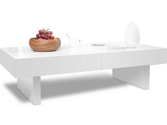 Miliboo - gissy table basse - Rechteckiger Couchtisch