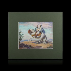 Expertissim - louis john endres. fantassin de zemmour - Orientalisch Gemälde