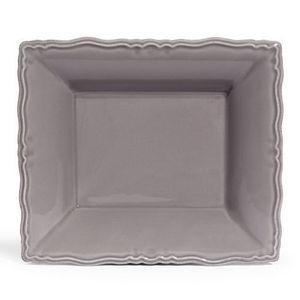 MAISONS DU MONDE - assiette à soupe marquise grise - Tiefer Teller