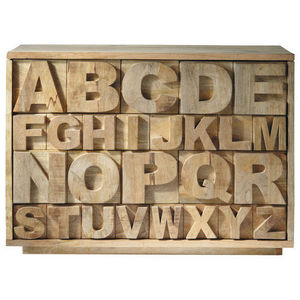 Maisons du monde - alphabet - Kabinettschrank