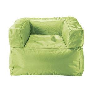 Maisons du monde - fauteuil vert papagayo - Sessel