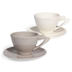 MAISONS DU MONDE - assortiment de 6 tasses et soucoupes à café pierro - Kaffeetasse