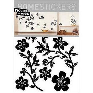 Nouvelles Images - stickers adhésif guirlande noire nouvelles images - Sticker