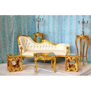 DECO PRIVE - trone mariage oriental (pack 7) - Sitzgruppe
