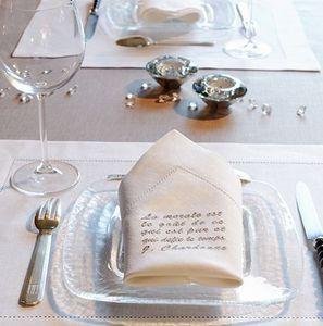 JEUX D ECRITURE -  - Tisch Serviette