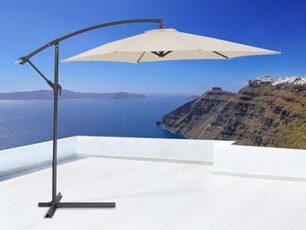 BELIANI - beige - Sonnenschirm