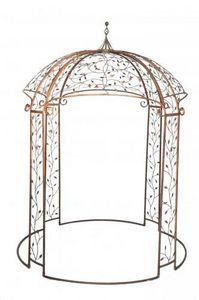 Demeure et Jardin - kiosque rond récamier - Pavillon
