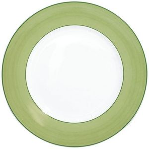 Raynaud - pareo vert - Flache Teller