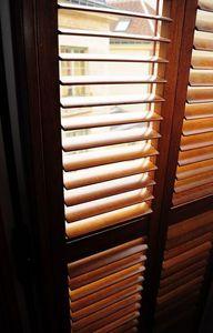DECO SHUTTERS -  - Klapp Lamellenfensterläden
