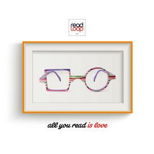 READ LOOP - patchwork - Schutzbrille