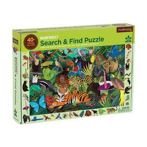 BERTOY - search & find puzzle rainforest - Kinderpuzzle