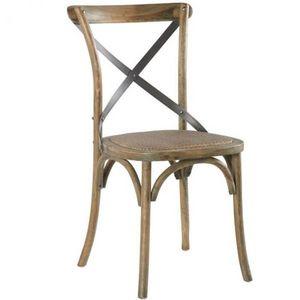 Mathi Design - chaise bistrot chêne - Stuhl
